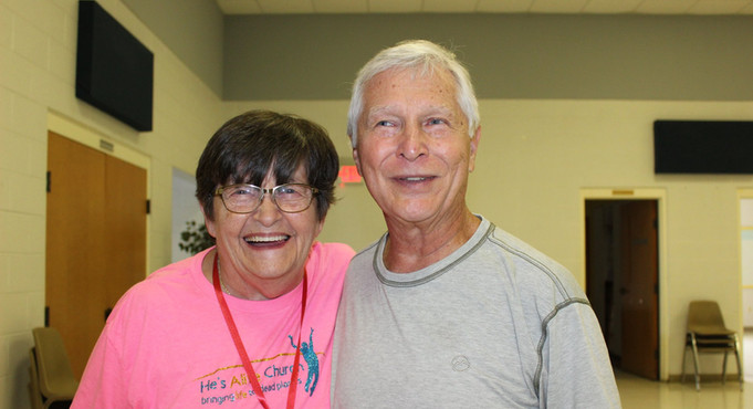 You can see the joy of serving on the faces of our volunteers
