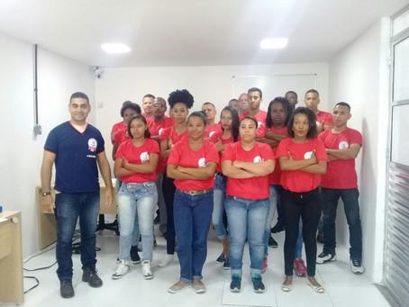 Primeira turma do curso de bombeiro civil: turma 01 – Manhã