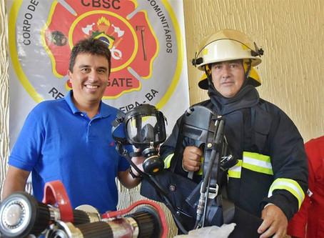 Prefeitura de Serrinha investe quase 35 mil reais em equipamentos para bombeiros civis