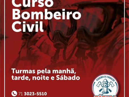 Concorra a 04 Bolsas do Curso de Bombeiro Civil