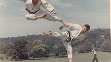 1966 Karate in Richmond Park