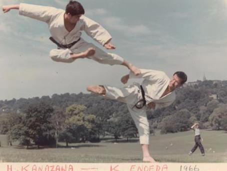 1966 Karate in Richmond Park