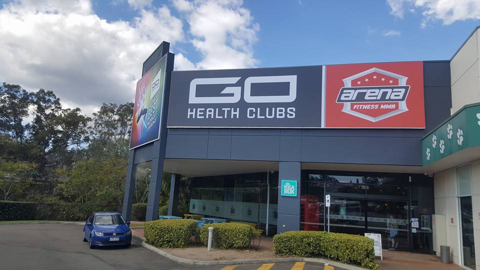 Go Health Club Banner