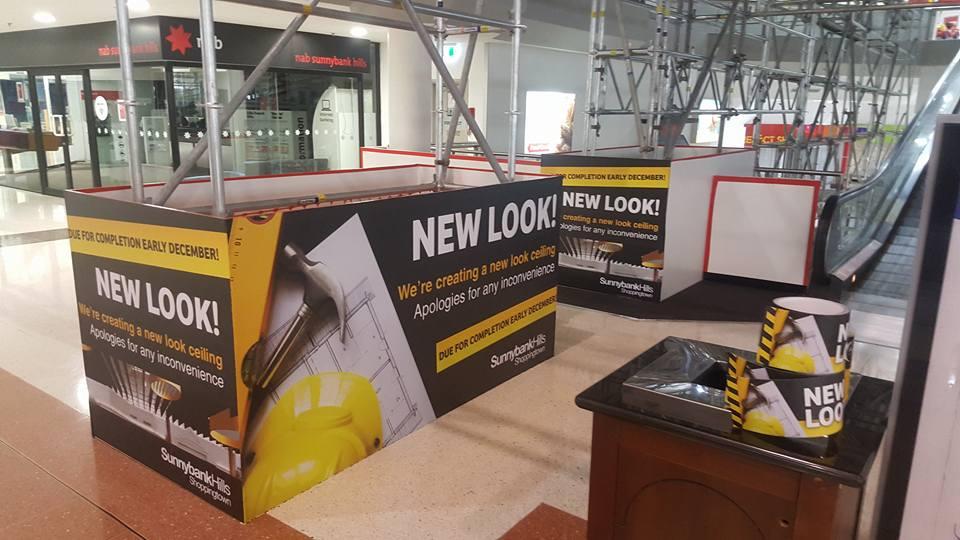 sunnybank hoarding install 5