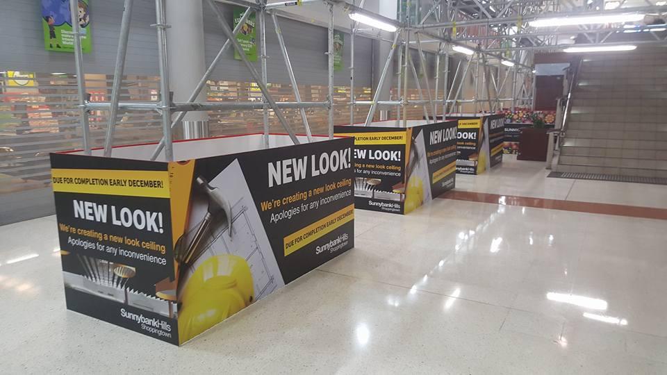 sunnybank hoarding install 4