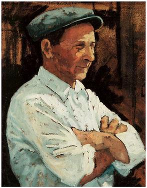 Ritratto di contadino di Vincenzo Morra