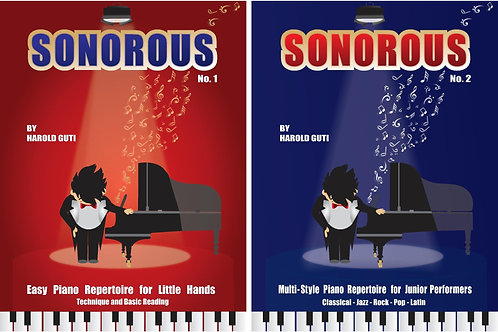 SONOROUS 2Book Set (School order of 50 books)