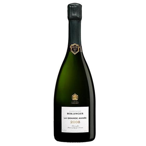 Champagne Bollinger La Grande Année 2008 Brut