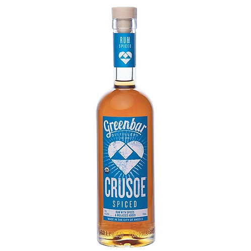 Greenbar CRUSOE Organic Spiced Rum