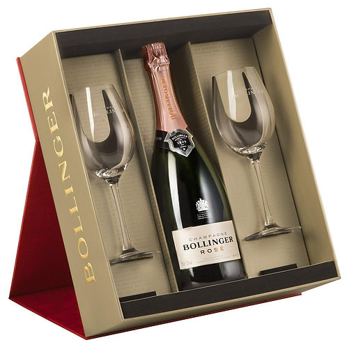 Bollinger Gift Box 75cL with 2 Glasses