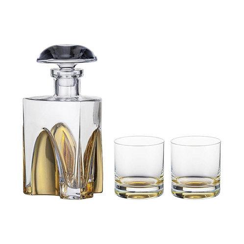 Eisch Gentalmen Whisky Set, Gold