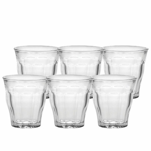 Duralex Picardie Clear Tumbler, Set of 6