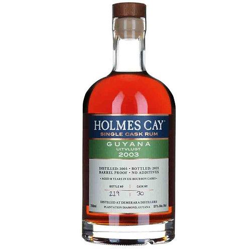 Holmes Cay Guyana Rum Uitvlugt 2003