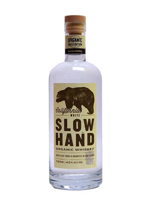 Greenbar SLOW HAND Organic White Whiskey