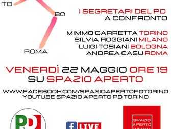 Roma, Bologna, Milano, Torino: insieme verso le sfide del 2021