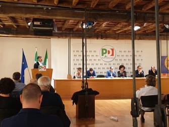 Avanti uniti per Roma: la relazione di Casu alla Direzione romana del Pd