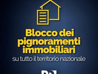 Decreto ristori: Blocco dei pignoramenti immobiliari