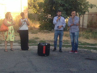 A Settecamini per l'assemblea pubblica promossa dai comitati di cittadini preoccupati per i rogh