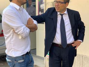 Con Alessio D'Amato!