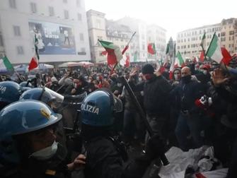 Ancora scontri e violenze a Roma: il negazionismo è solo un pretesto.