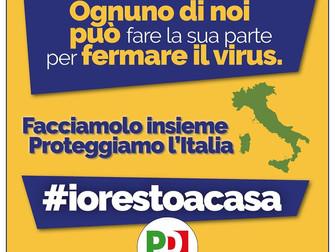 Restiamo a casa per proteggere Roma e l'Italia