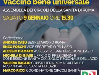 Uniti contro il Covid: Vaccino bene universale