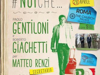 Verso le primarie con Gentiloni per Renzi segretario