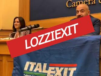 Altro che ITALEXIT per il bene del VII Municipio serve subito un LOZZIEXIT!