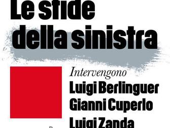 Insieme a Berlinguer, Cuperlo e Zanda verso le prossime sfide della sinistra