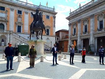 In Campidoglio per chiedere a Roma Capitale subito regole certe per le Occupazioni Suolo Pubblico