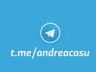 Seguimi anche su Telegram!