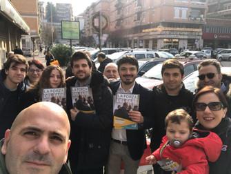 Buona domenica Roma #02 insieme strada per strada verso il 4 marzo