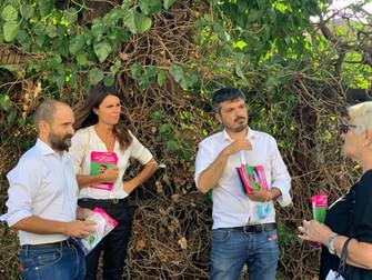 Con Simona Bonafè e Matteo Orfini!