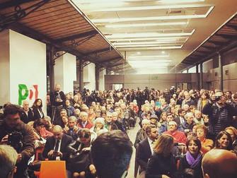 Al fianco di Gentiloni e Zingaretti con tutti i nostri volontari!