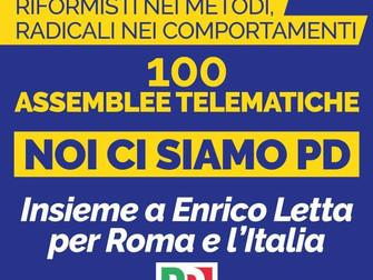 Noi ci siamo PD insieme a Enrico Letta per Roma e per l'Italia