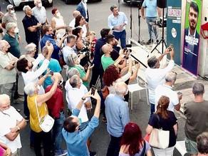 A Casalotti, apertura del  comitato di Piazza Ormea!