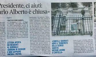 Caro Presidente, aiutaci tu! Lettera aperta del comitato Scatena Monti per la riapertura di Villa Ca