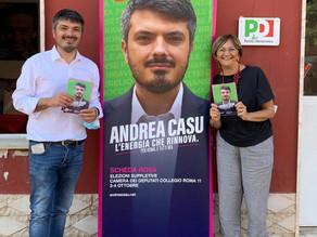 A Montespaccato con Cecilia D'Elia e Sabrina Giuseppetti