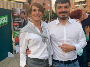 Con Cristina Maltese!