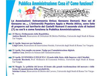 Prove tecniche di democrazia: appuntamento a Genzano