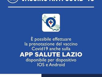 Regione Lazio locomotiva d'Italia nella campagna di vaccinazione