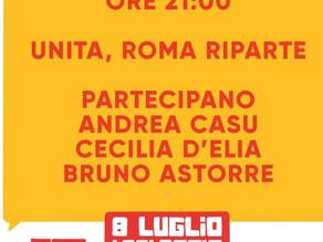 Torna la Festa de l'Unità di Roma dall'8 al 18 luglio a Testaccio