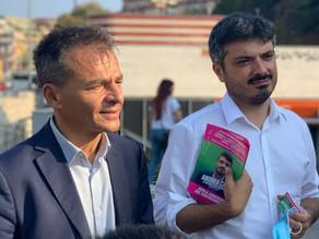 Con Stefano Fassina!