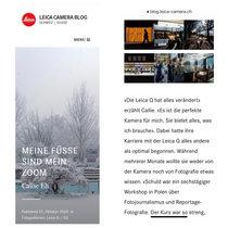 Leica Schweiz Blog