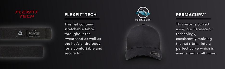 Boné Flexfit Tech tecnologia viseucaps