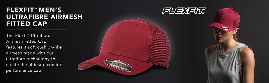 Flexfit ultrafibre Airmesh Fitted cap
