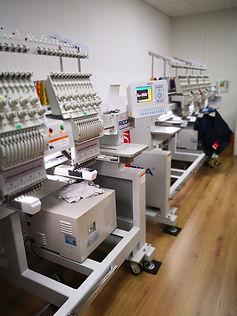 Maquinas industrias de bordar