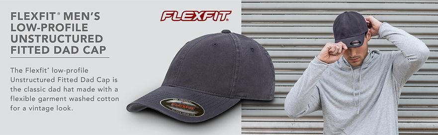 Cap Flexfit low-profile viseucaps