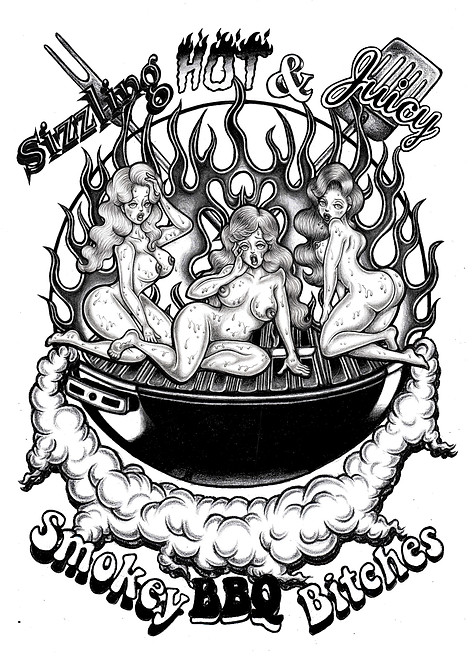 Sizzling Hot& Juicy Smokey BBQ Bitches