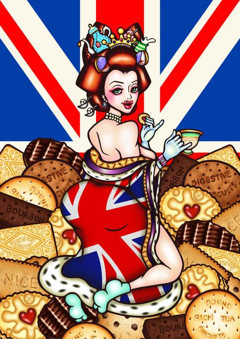 Biscuit Geisha Queen
